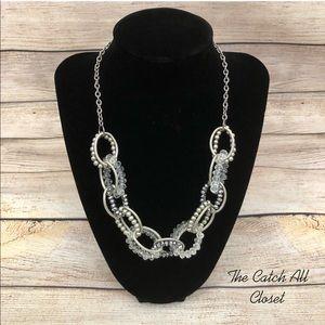 "New York & Co. chunky Beaded Necklace 3O.5"" long"
